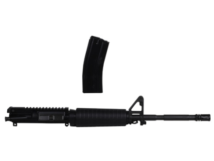 "Smith & Wesson AR-15 A3 Flat-Top Upper Assembly 5.45x39mm 1 in 8"" Twist 16"" Barrel Chrome Lined Chrome Moly Matte, A2 Front Sight, Flash Hider, with 30-Round Magazine Pre-Ban"