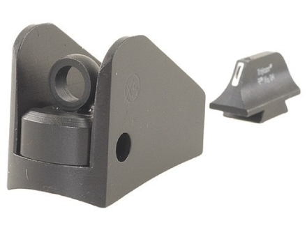 XS 24/7 Tactical Shotgun Sight Set Remington 870,1100, 11-87 Steel Matte Tritium Bar Front, Winged Rear