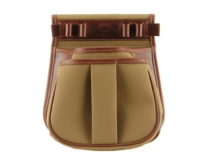 Galco Sporting Clays Shotgun Shell Pouch Canvas Tan