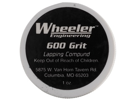 Wheeler Engineering Lapping Compound 600 Grit (Polishing) 1 oz