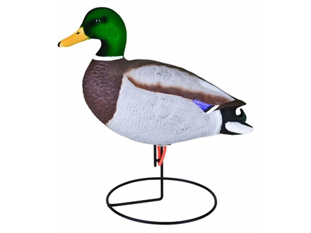 Flambeau Storm Front Full Body Flocked Head Mallard Duck Decoys Pack of 6