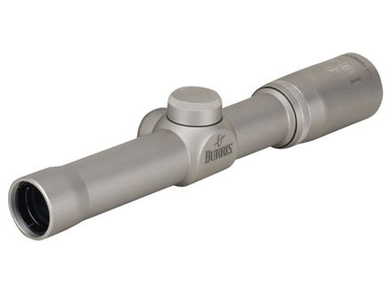 Burris Pistol Scope 2x 20mm Plex Reticle Nickel