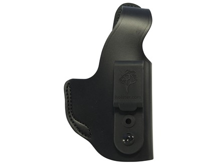 DeSantis Dual Carry II Inside/Outside the Waistband Holster Right Hand Smith & Wesson M&P Compact 9mm, 40 S&W Leather Black