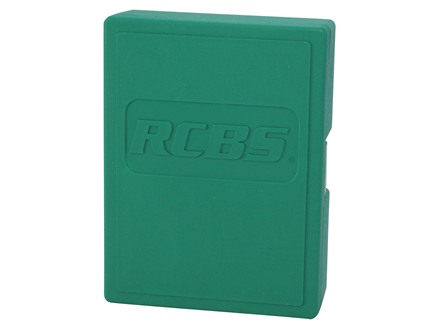 RCBS 3-Die Storage Box Green