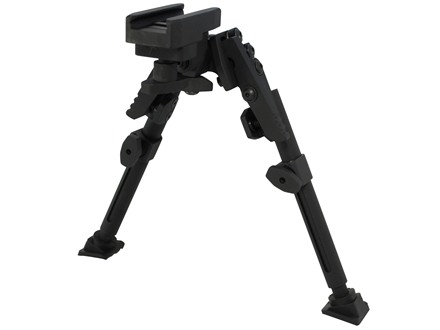 "GG&G XDS Standard Bipod Picatinny Rail Mount 7"" to 9.5"" Aluminum Black"
