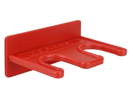 Downrange 2 Gun Magnetic Rack Polymer Red