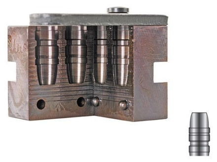 Lyman 2-Cavity Bullet Mold #429650 44 Special, 44 Remington Magnum (430 Diameter) 300 Grain Semi-Wadcutter Gas Check