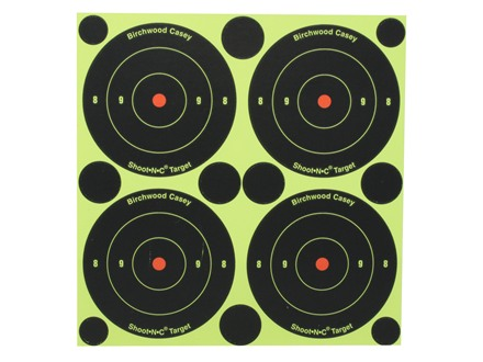 "Birchwood Casey Shoot-N-C Target 3"" Bullseye Package of 48 with 120 Pasters"