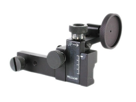 Williams FP-Deluxe Target Receiver Peep Sight Less Attaching Base High Aluminum Black