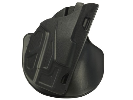 Safariland 7378 7TS ALS Concealment Paddle Holster Right Hand Glock 19, 23 Polymer Black