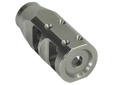 "JP Enterprises Bennie Cooley TactiCal Muzzle Brake 223 caliber 1/2""-28 Thread .925"" Outside Diameter Stainless Steel"