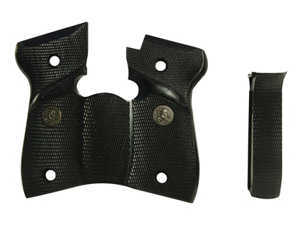 Pachmayr Signature Grips with Backstrap Browning BDA 380 ACP Rubber Black