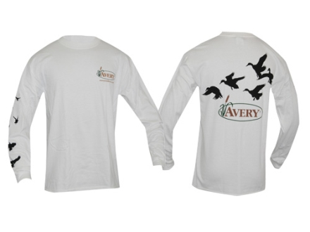 Avery Flock of Ducks T-Shirt Long Sleeve Cotton