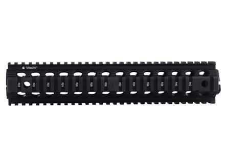"Troy Industries 12"" MRF Drop-In Battle Rail 2-Piece Quad Rail Handguard AR-15 Rifle Length"