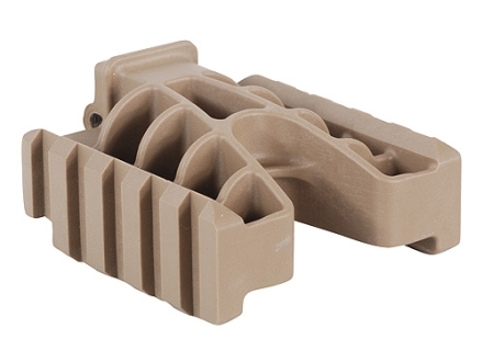 Grip Pod Double Light Rail Polymer Tan