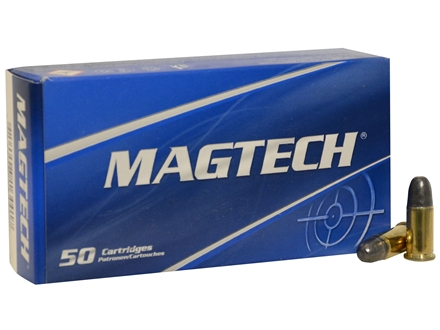Magtech Sport Ammunition 38 Special Short 125 Grain Lead Round Nose