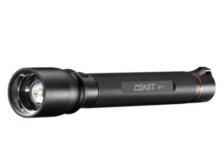 Coast HP17 Flashlight White LED Aluminum Black
