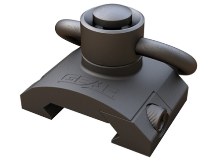 Gear Sector Rail Mount Sling Adapter with Heavy Duty Quick Detach Sling Swivel AR-15 Aluminum
