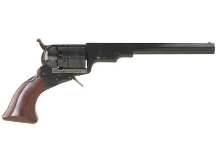 "Uberti 1836 Paterson Steel Frame Black Powder Revolver without Loading Lever 36 Caliber 7-1/2"" Blue Barrel"