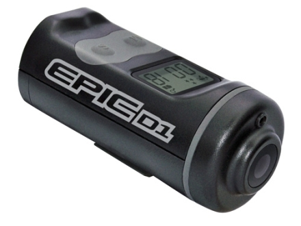 EPIC HD Instant On Action Camera 720P with Remote Black