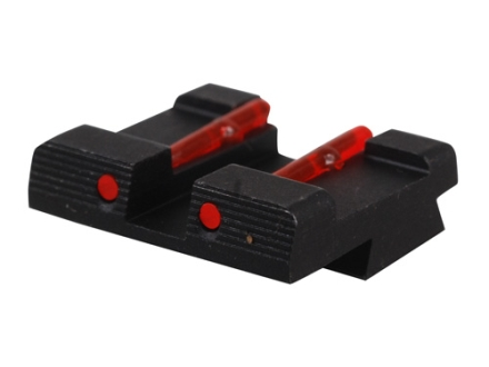 HIVIZ Rear Sight Springfield XD, XDM Steel Fiber Optic