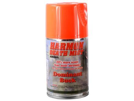 Harmon Death Mist Dominant Buck Scent Aerosol 6 oz