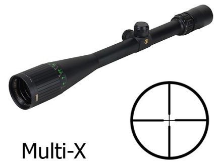 Bushnell Elite 4200 Rifle Scope 6-24x 40mm Adjustable Objective Multi-X Reticle Matte with Shade