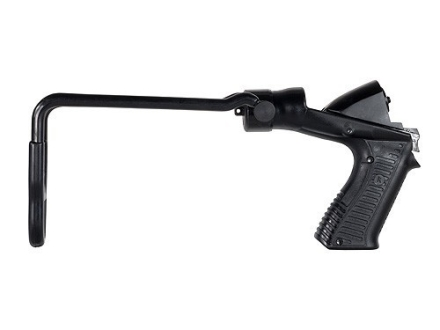 Blackhawk Knoxx SpecOps Recoil Reducing Folding Stock Maverick 88, Mossberg 500, 590, 590A1, 835 12 Gauge Synthetic Black