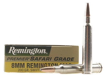 Remington Premier Ammunition 8mm Remington Magnum 200 Grain Swift A-Frame Box of 20