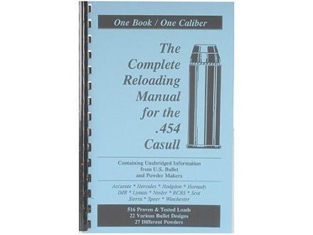 "Loadbooks USA ""454 Casull"" Reloading Manual"