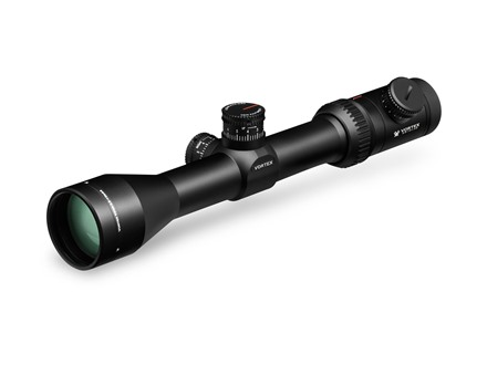 Vortex Viper PST Rifle Scope 30mm Tube 2.5-10x 44mm Illuminated EBR-1 MOA Reticle Matte