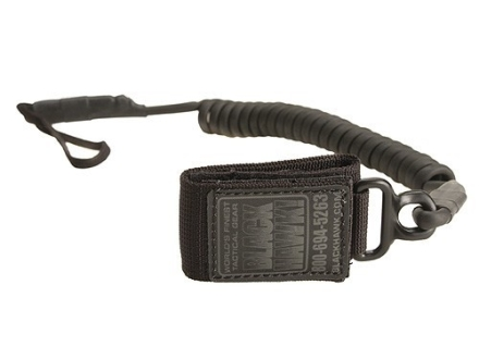 BlackHawk Tactical Pistol Lanyard Coiled Black