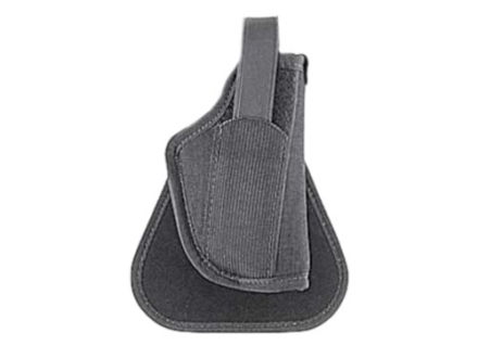 "Uncle Mike's Paddle Holster Right HandLarge Frame Semi-Automaticwith Laser 4.5"" to 5"" Nylon Black"