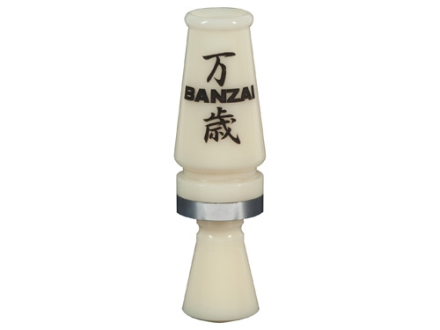 Banded Fowl Life Series Banzai Acrylic Duck Call Ivory