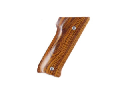 Hogue Fancy Hardwood Grips Ruger Mark II with Right Hand Thumbrest Cocobolo