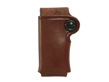 Galco Single Magazine Pouch 380 ACP, Single Stack Magazines Leather Tan