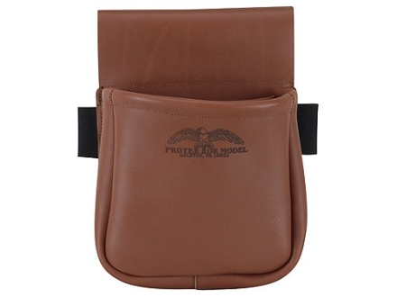Protektor Divided Shotgun Shell Pouch Leather Tan