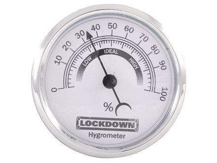 LOCKDOWN Hygrometer Gauge