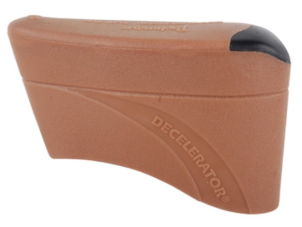 "Pachmayr Decelerator Recoil Pad Slip-On fits 4-3/4"" to 4-7/8"" High x 1-1/2"" Wide x 3/4"" Thick Rubber Brown Small"