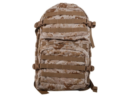 Spec.-Ops. T.H.E. Pack MOLLE Backpack Nylon Desert Digital