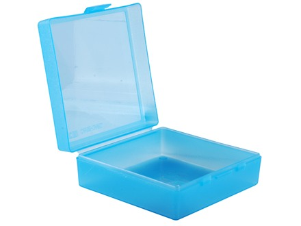 "MTM Utility Box 5.5"" x 5.9"" x 2"" Clear-Blue"
