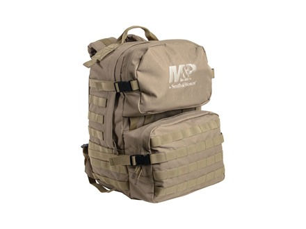 Smith & Wesson M&P Barricade Tactical Backpack Nylon Tan