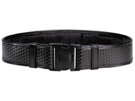 "Bianchi 7950 AccuMold Elite Duty Belt 2-1/4"" Polymer Buckle Trilaminate Basketweave Black 28""-34"""
