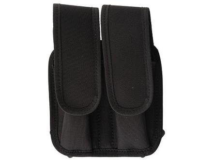 Bianchi 4620A Tuxedo Double Magazine Pouch Beretta 92, Glock 17, 19, Para-Ordnance P12, P16 Trilaminate Black