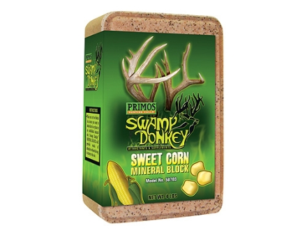 Primos Swamp Donkey Sweet Corn Deer Attractant Block 4 lb