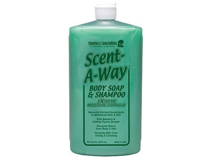 Hunter's Specialties Scent-A-Way Antibacterial Scent Eliminator Soap Liquid 32 oz