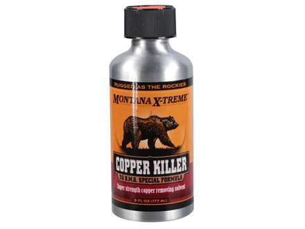 Montana X-Treme Copper Killer Bore Cleaning Solvent 6 oz Liquid