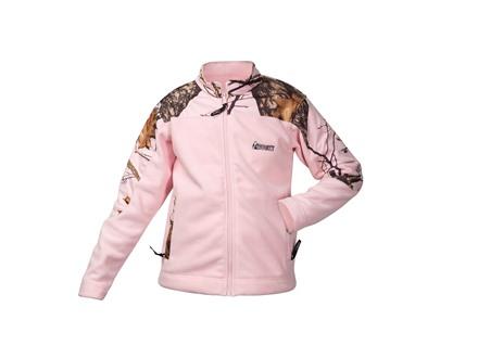 Rocky Women's Fleece Jacket Polyester Pink/Mossy Oak Break Up Pink Small