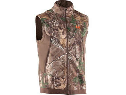 Under Armour Men's Ayton Fleece Vest Polyester Realtree Xtra Camo Medium 38-40