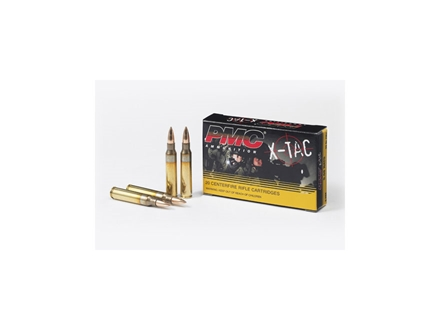PMC X-Tac Ammunition 5.56x45mm NATO 55 Grain XM193 Full Metal Jacket Boat Tail